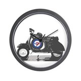 Vespa Classics Wall Clock