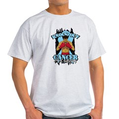 Knock Out Prostate Cancer Light T-Shirt