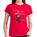 Julio: Look cool... Women's Dark T-Shirt