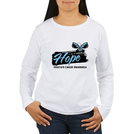 Hope - Prostate Cancer Women's Long Sleeve T-Shirt
