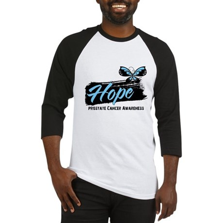 Hope - Prostate Cancer Baseball Jersey