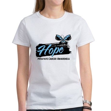 Hope - Prostate Cancer Women's T-Shirt