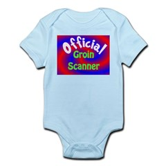 Groin Scanner Infant Bodysuit