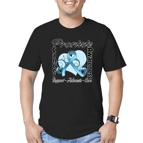 Prostate Cancer Awareness Men's Fitted T-Shirt (da