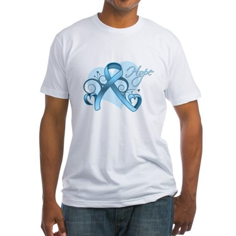 Hope Prostate Cancer Fitted T-Shirt