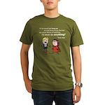 Elan: Never do anything... Organic Men's T-Shirt (