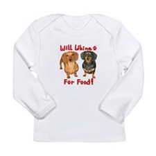 Will Whine Long Sleeve Infant T-Shirt