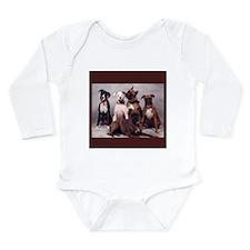 Boxers Long Sleeve Infant Bodysuit