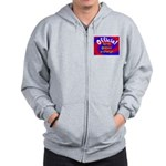 Groin Scanner In Charge Zip Hoodie