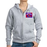 Groin Scanner In Charge Women's Zip Hoodie