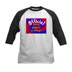 Groin Scanner In Charge Kids Baseball Jersey