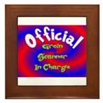 Groin Scanner In Charge Framed Tile