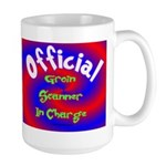 Groin Scanner In Charge Large Mug