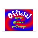 Groin Scanner In Charge Postcards (Package of 8)