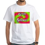 The Groin Scanner White T-Shirt