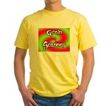 The Groin Scanner Yellow T-Shirt