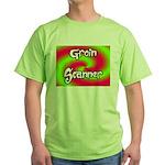 The Groin Scanner Green T-Shirt