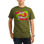 The Groin Scanner Organic Men's T-Shirt (dark)