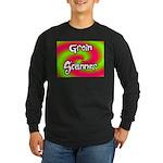 The Groin Scanner Long Sleeve Dark T-Shirt