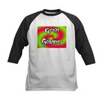 The Groin Scanner Kids Baseball Jersey