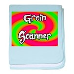 The Groin Scanner baby blanket