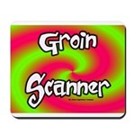 The Groin Scanner Mousepad