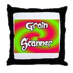 The Groin Scanner Throw Pillow