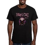 V: Evil Laugh Men's Fitted T-Shirt (dark)