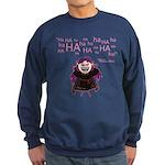 V: Evil Laugh Sweatshirt (dark)