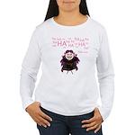 V: Evil Laugh Women's Long Sleeve T-Shirt