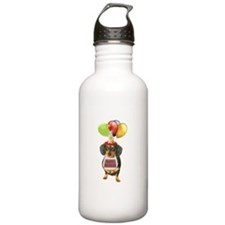 Black Doxie Birthday Water Bottle