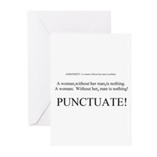 PUNCTUATE! Greeting Cards (Pk of 10)
