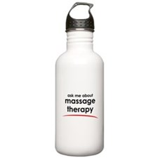 Ask Me About Massage Water Bottle