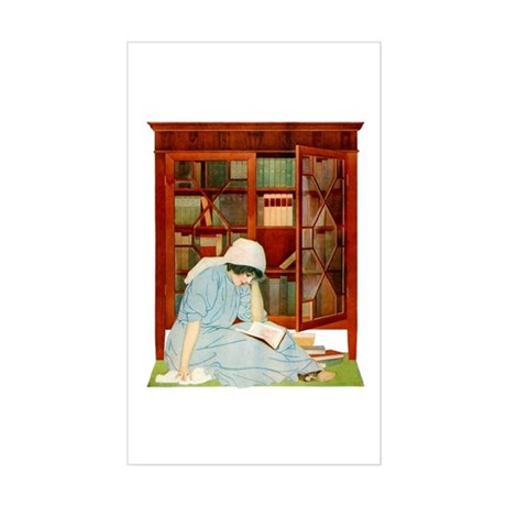 COLES PHILLIPS - Lost Horizons Sticker (Rectangle)