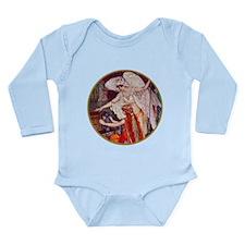 DESTINY'S ANGEL Long Sleeve Infant Bodysuit