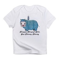 Thirsty, Thirsty Hippo Infant T-Shirt