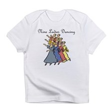 Ninth Day of Christmas Infant T-Shirt