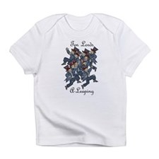 Tenth Day of Christmas Infant T-Shirt