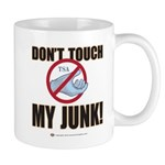 Don't Touch My Junk! Mug