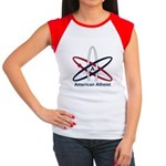 Atheist American Women's Cap Sleeve T-Shirt