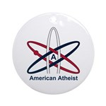 Atheist American Ornament (Round)