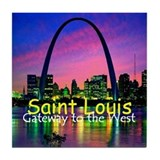 St. Louis Tile Coaster