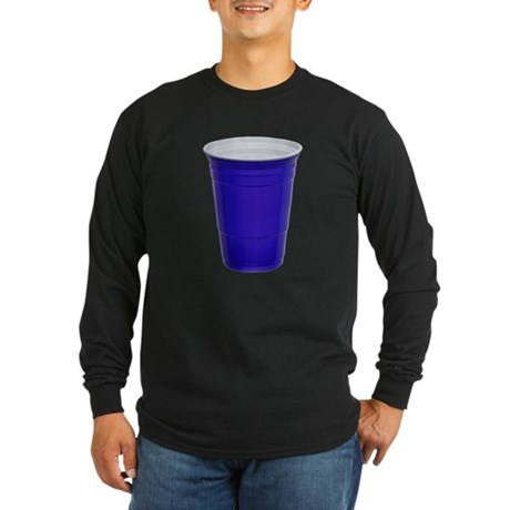 Blue Party Cup Long Sleeve T-Shirt