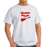 red ukulele T-Shirt