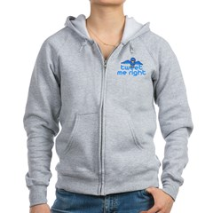 Tweet Me Right Women's Zip Hoodie