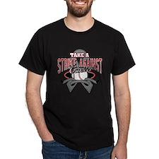 Take a Strike Brain Cancer T-Shirt