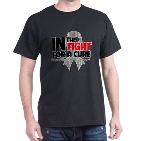 In The Fight Brain Cancer Dark T-Shirt