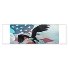 Patriot Eagle Bumper Sticker