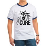 HopeLoveCure Brain Cancer T