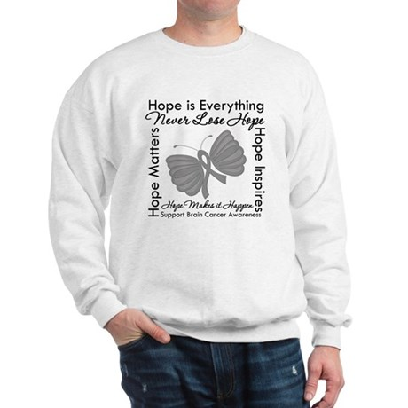HopeisEverything BrainCancer Sweatshirt